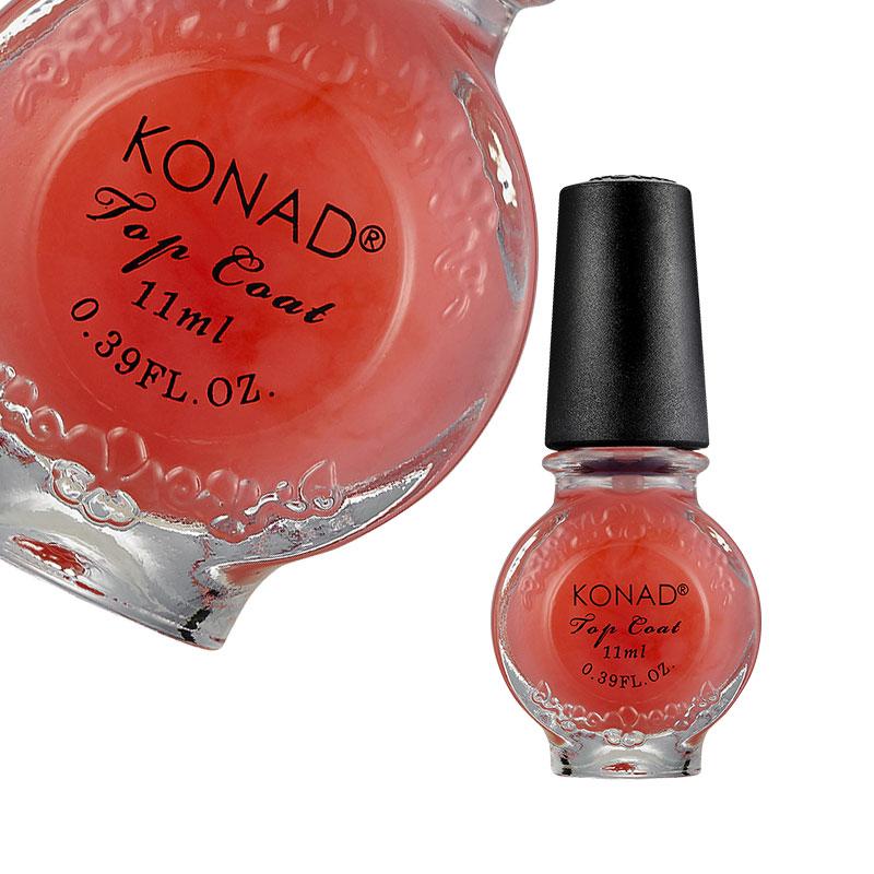 Fedő és díszítő lakkok - Speciális fedőlakk KONAD® Pink KONAD® - 11ml