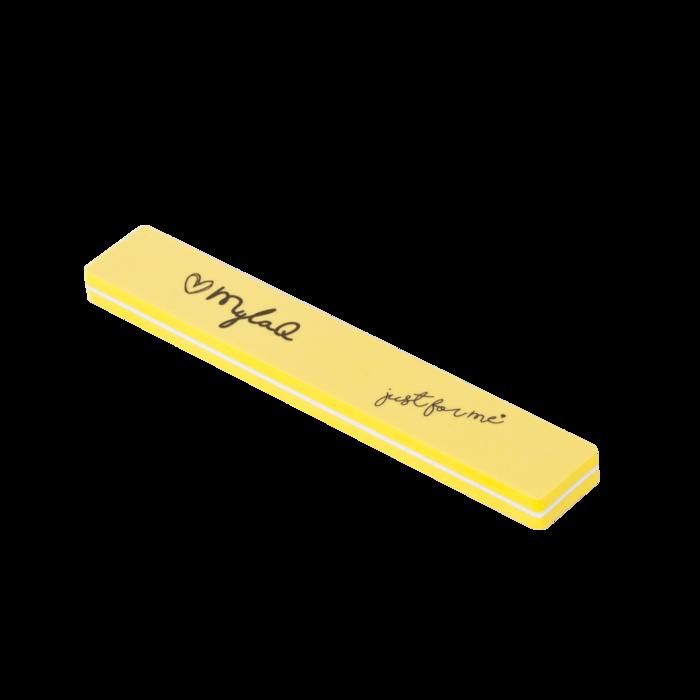Reszelők és blokkok - Prémium körömreszelő Mylaq® 100/180 sárga