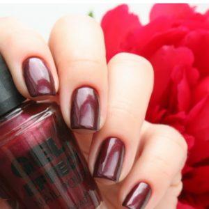 Lakkok - Gél hatású körömlakk Konad® 15ml Vampire Red