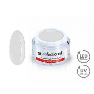 Finish LED-UV zselék - UV Zselé egyfázisú Ultra Finish gél Professionail 30ml