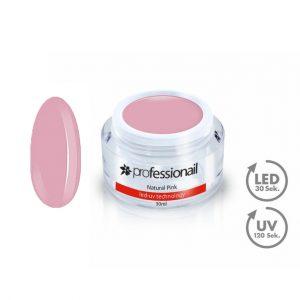 Akciós termékek - LED-UV álcázó/fedő zselé natural pink 50ml Professionail™