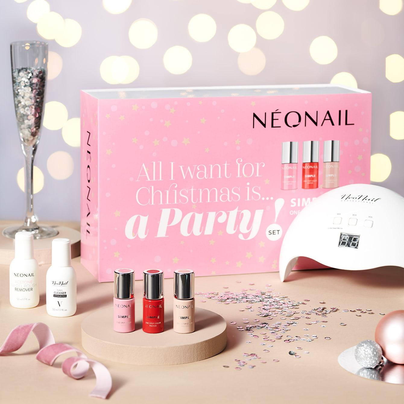 Gél lakk szettek - Gél lakk készlet NeoNail® Party set