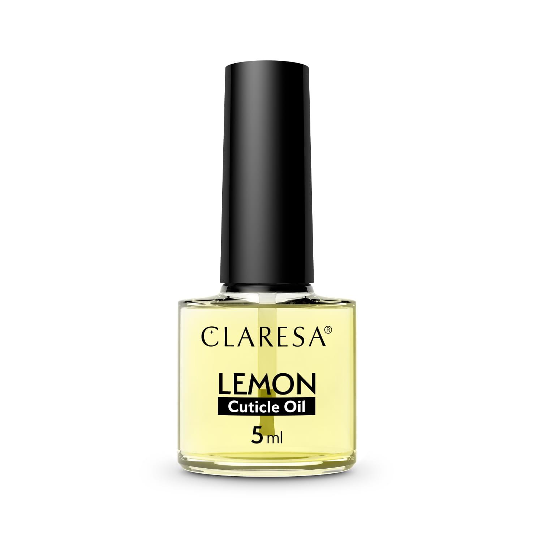 Előkészítő és segédfolyadékok - Körömápoló olaj lemon 5ml Claresa®