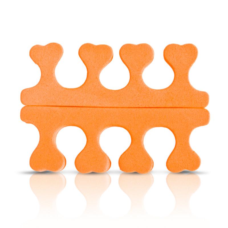 Manikűr-pedikűr - Lábujj szeparátor Donegal narancssárga® - 1 pár