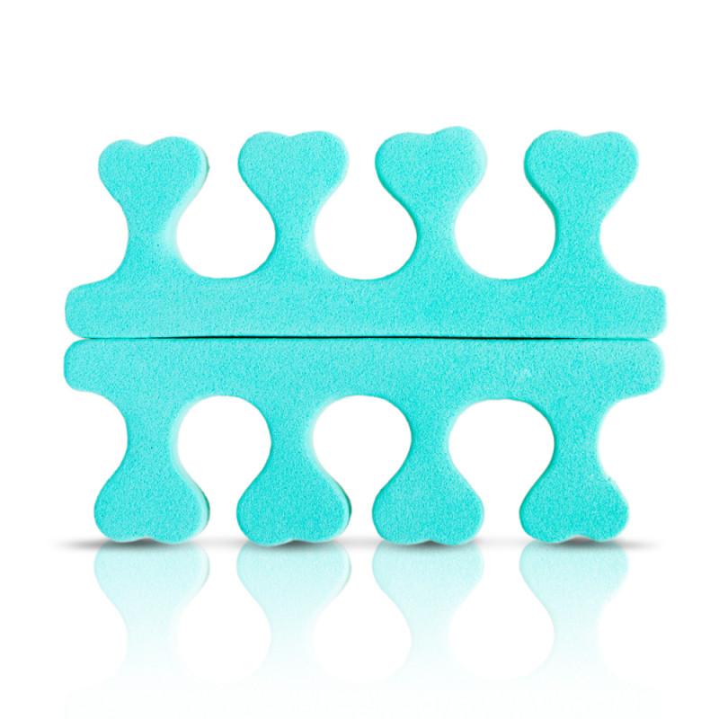 Manikűr-pedikűr - Lábujj szeparátor Donegal zöld® - 1 pár