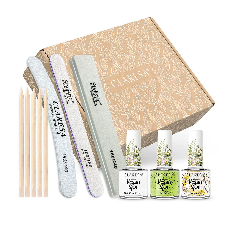 Kezdő szettek - Claresa® körömápoló készlet / Spa Green power
