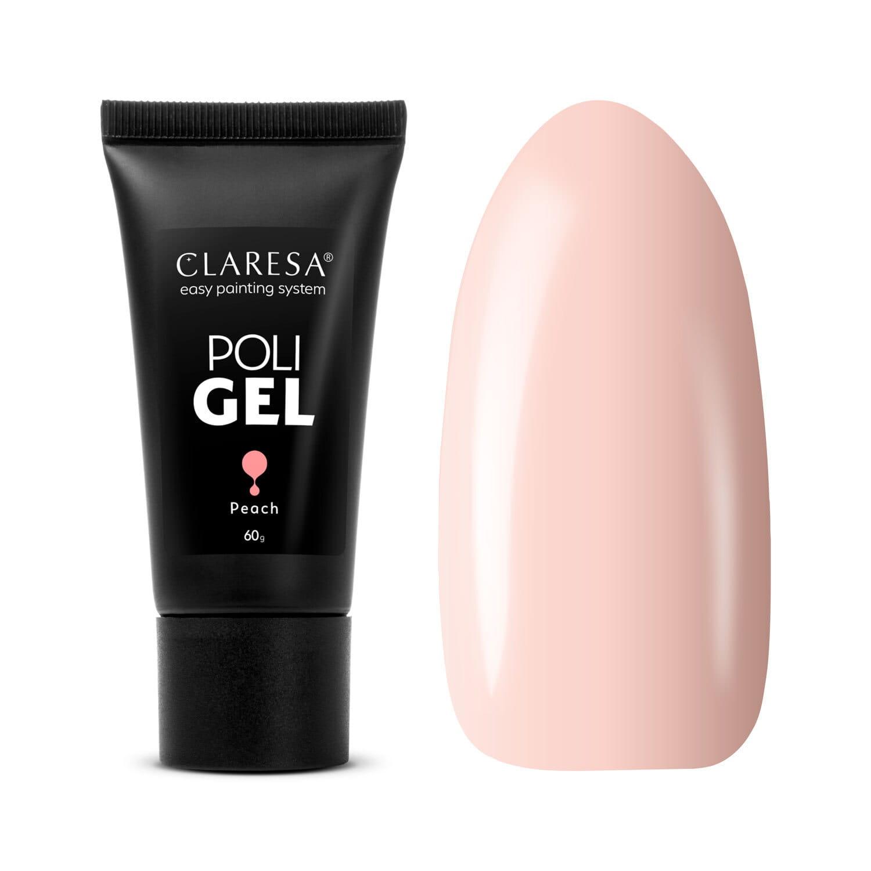 Akrygél - CLARESA® POLY GÉL PEACH 60G