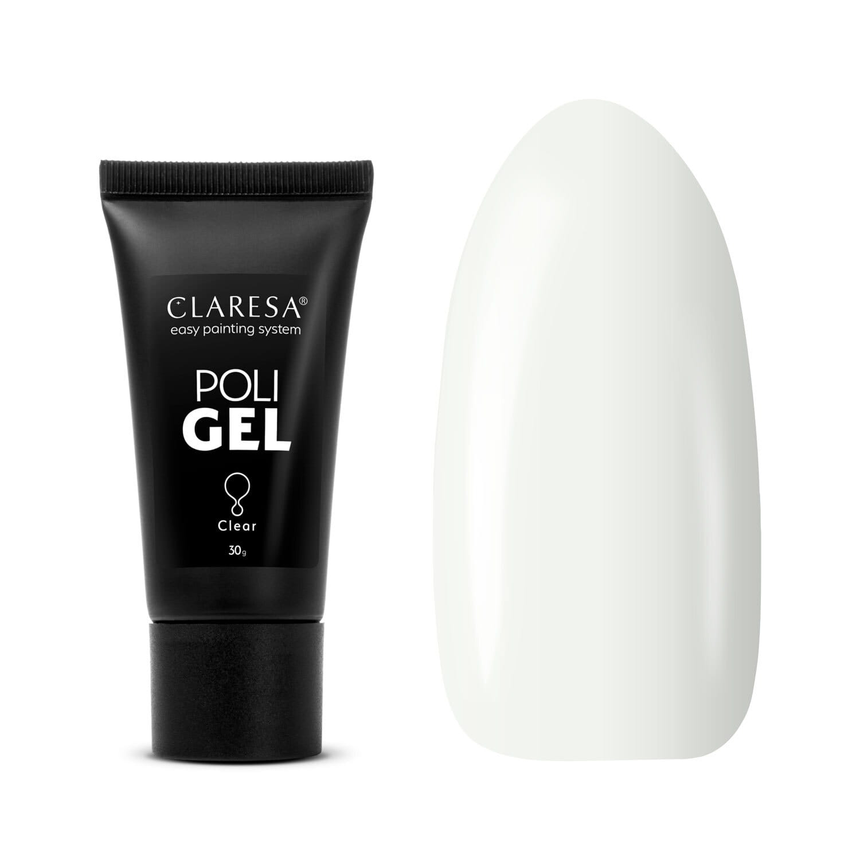 Akrygél - CLARESA® POLY GÉL CLEAR 30G