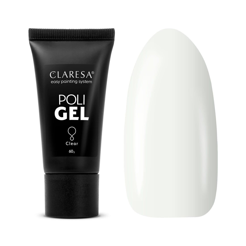 Akrygél - CLARESA® POLY GÉL CLEAR 60G