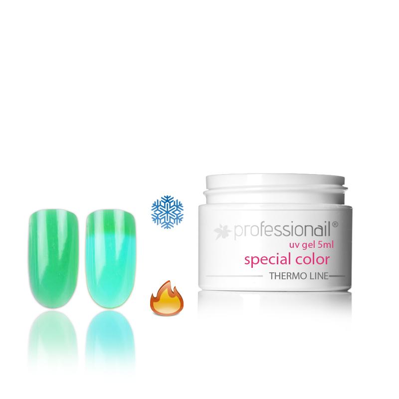 LED-UV zselék - Színes UV zselé 5ml Professionail®Thermo 06