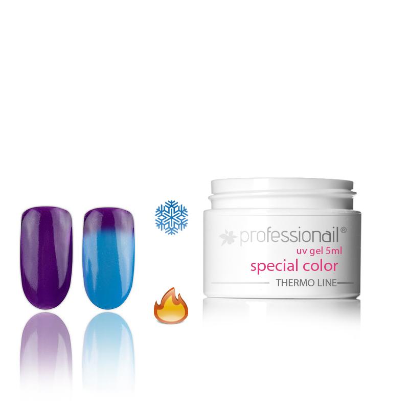 LED-UV zselék - Színes UV zselé 5ml Professionail®Thermo 10