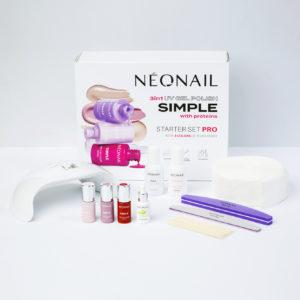 Kezdő szettek - Gél lakk készlet NeoNail®  SIMPLE One Step Pro 2